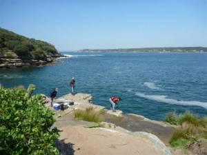Fishing Browns Rock
